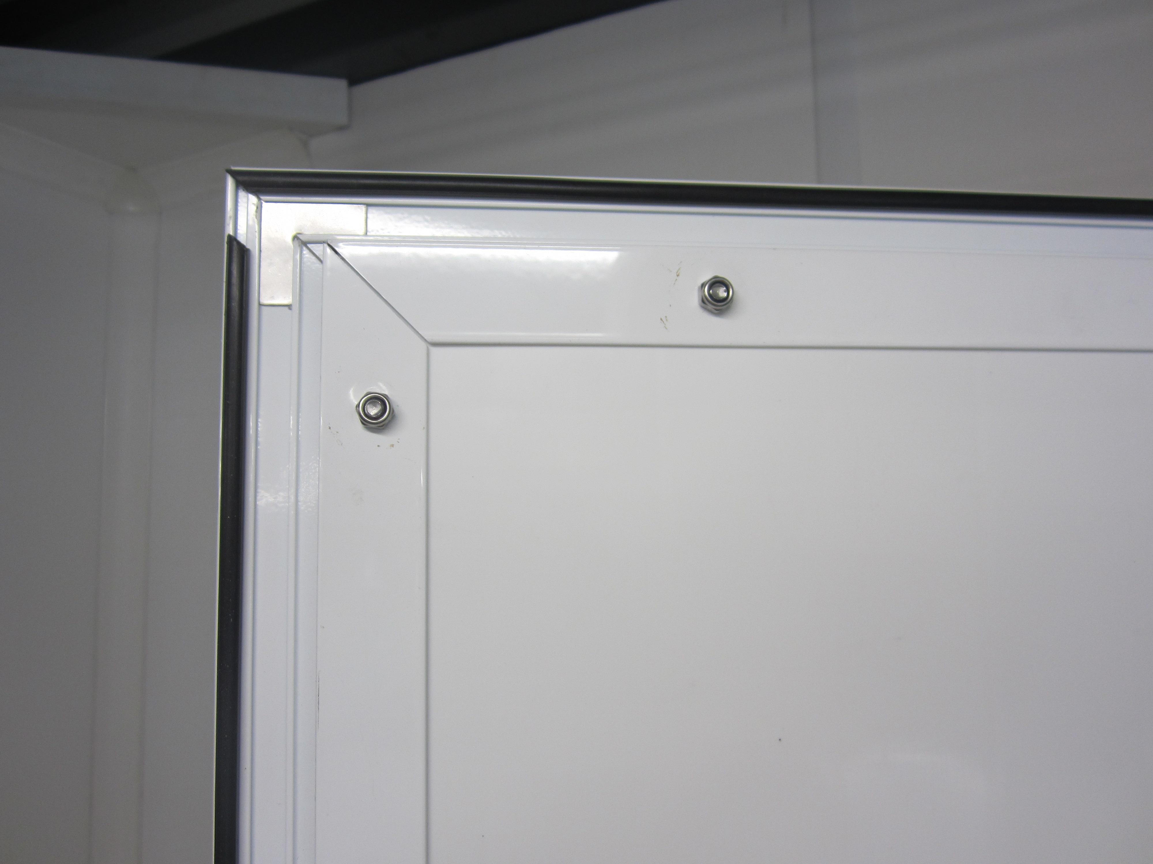 Aluminium Reinforced Doors With Paneltim Panels A Light