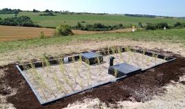 Biofiltro con paneles de plástico de Paneltim