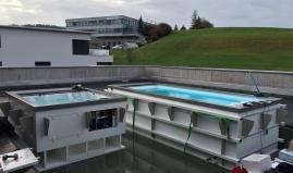 Zwembad uit  Paneltim kunststof panelen