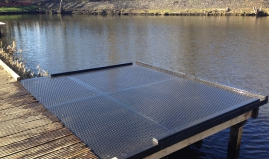 Jetty for fishermen sandwich panels Paneltim