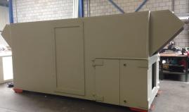 Cooling installation plastic panels Paneltim