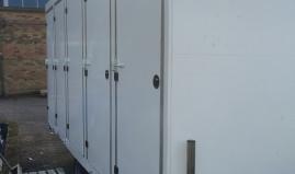 Toilet trailer sandwich panels Paneltim