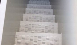 Staircase anti skid panels sandwich panels Paneltim