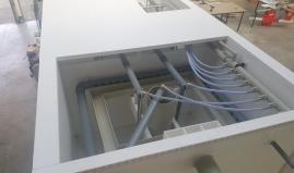 Afvalwatertank uit Paneltim kunststof panelen