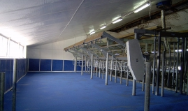 Milking station plastic sandwich panel Paneltim