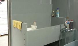 Dog bath wall covering plastic sandwich panel Paneltim