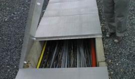 Cable duct plastic sandwich panel Paneltim