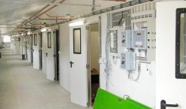 Utility lines control box plastic panel Paneltim