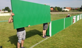 Divider panel sport field sandwich panels Paneltim