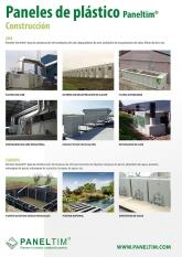 Construcción Paneltim aplicaciones hechas con paneles plásticos