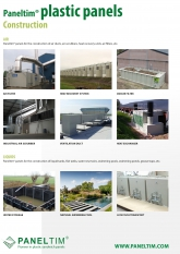 Construction – Paneltim flyer constructions made with plastic panels