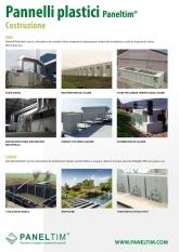 Applicazioni paneltim pannelli da costruzione