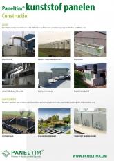 Constructie Paneltim constructies gemaakt met kunststof panelen