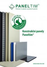 Paneltim leták konstrukční panely