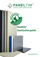 Construction - Paneltim flyer plastic panels