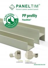 Paneltim PP profiles