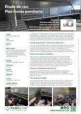 Étude de cas: Paneltim plat-forme porcherie