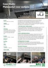 Case Study: Paneltim plateaustal voor varkens