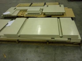 Easy milling of Paneltim plastic sandwich panels