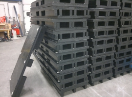 Pallets from Paneltim plastic sandwich panels