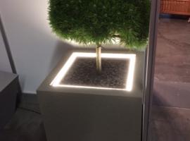 Paneltim kunststof sandwichpanelen voor plantenbakken met coating en verlichting