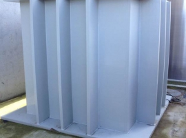 Paneltim multipower panels for liquid storage tanks with external reinforcements
