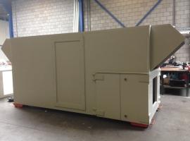 Paneltim plastic panels for heat cooling installations