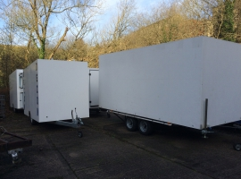 Trailers from Paneltim plastic sandwich panels