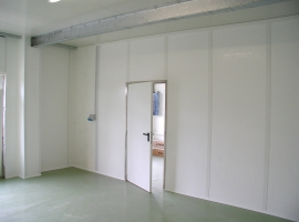 Wall cladding in Paneltim plastic  panels