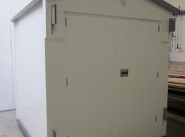 Различные кабины, изготовленные из пластиковых панелей Paneltim