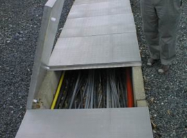 Paneltim plastic panels for cable trays