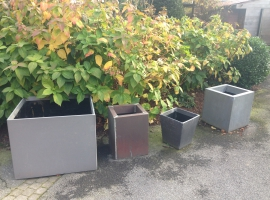 Paneltim plastic sandwich panels for plant boxes