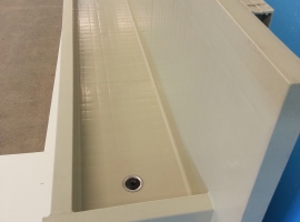 Paneltim plastic panels for sinks in sanitary rooms