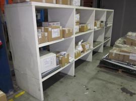 Paneltim kunststof sandwichpanelen voor voorraadkast