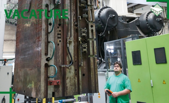 Paneltim vacature operator spuitgietmachines in Lichtervelde