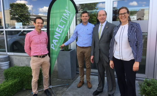 U.S. Ambassador to Belgium, Ronald J. Gidwitz, visited Paneltim