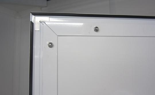 Door in in Paneltim plastic sandwich panels
