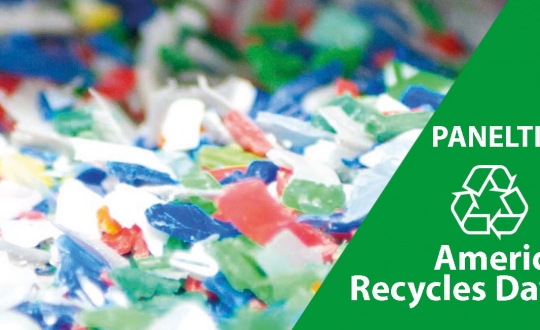 Paneltim supports America recycles day