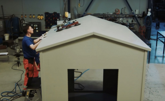 Cabin of Paneltim panels