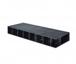 Paneltim kunststof panelen met cellenstructuur 50 mm x 100 mm