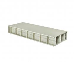Paneltim kunststof panelen met cellenstructuur 50 mm x 50 mm