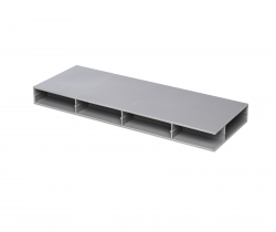 "Paneltim plastic panels with cell structure 100 mm x 100 mm (4"" x 4"")"