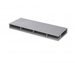 Panneaux plastiques Paneltim avec structure cellulaire 100 mm x 100 mm